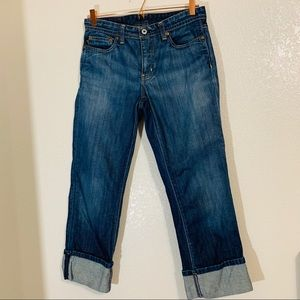 Polo Ralph Lauren   Blue Cuffed Ankle Jeans Size 6